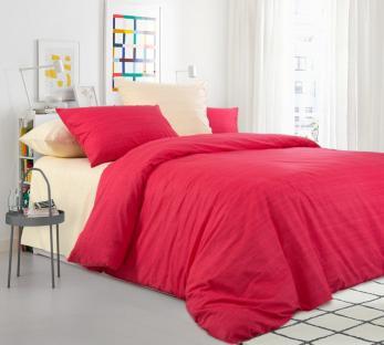 Комплект постельного белья из перкаля Нектарин