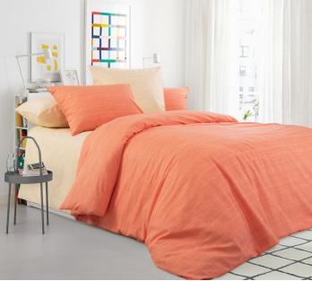 Комплект постельного белья из перкаля Персиковый пудинг