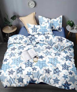 Комплект постельного белья из сатина Звездный принт