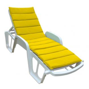 Матрас на лежак Onda Texilk желтый