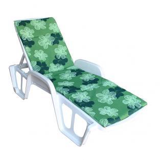 Матрас на лежак Sun зеленый
