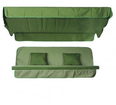 Мягкий комплект к качелям Seattle зеленый меланж