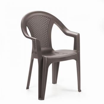 Садовое кресло для дачи Ischia коричневый
