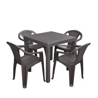 Набор стол Dallas + 4 кресла Atlanta