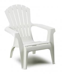 Садовое кресло для дачи Dolomiti белое