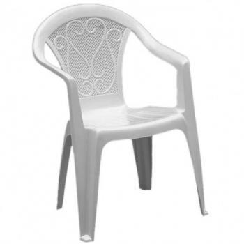 Кресло Ole белое