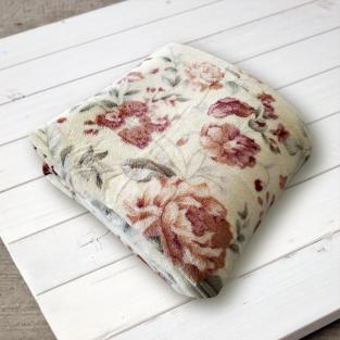 Плед микрофибра Elway Бежевые розы 160х210 см