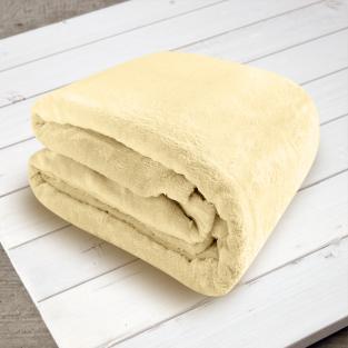 Плед микрофибра Elway Песочный 160х210 см