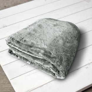 Плед микрофибра Elway Фисташковый 160х210 см