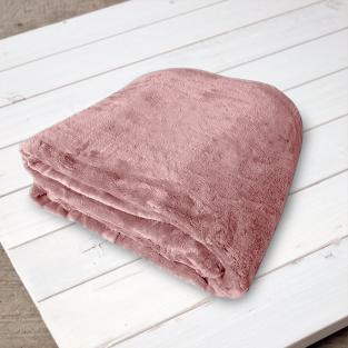 Плед микрофибра Elway Пудра 160х210 см