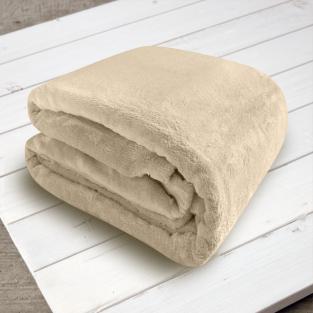 Плед микрофибра Elway Какао 160х210 см