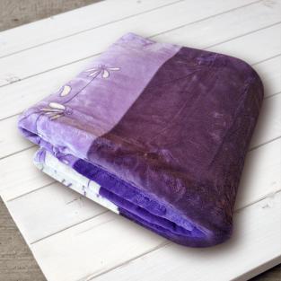 Плед микрофибра Elway Фиалка фиолетовая 200х220 см