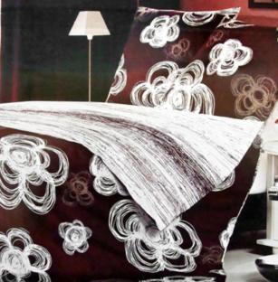 Комплект постельного белья из сатина Chalk Flowers