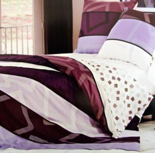 Комплект постельного белья из сатина Purple Dreams