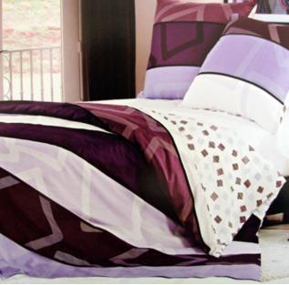 Комплект постельного белья полуторный Elway 3762 Purple Dreams