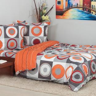 Комплект постельного белья из сатина Circles