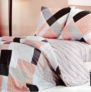 Комплект постельного белья из сатина Patchwork