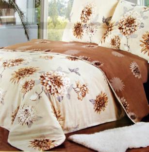 Комплект постельного белья из сатина Asters Beige