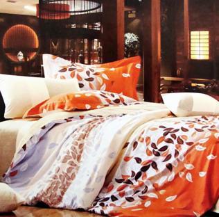 Комплект постельного белья из сатина Leaf Fall