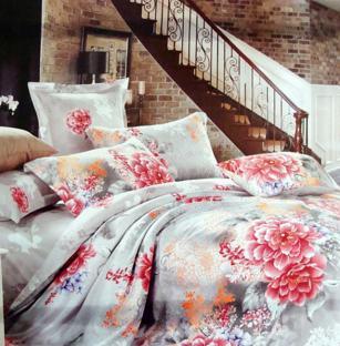Комплект постельного белья из сатина Velvet Peony