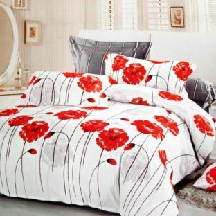 Комплект постельного белья из сатина Elway 4181