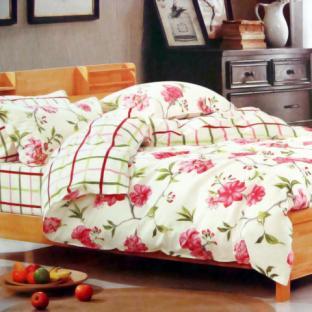 Комплект постельного белья из сатина Elway 4184