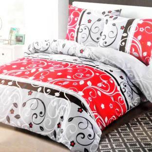 Комплект постельного белья из сатина Light Monogram