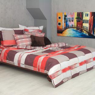 Комплект постельного белья из сатина Red Check