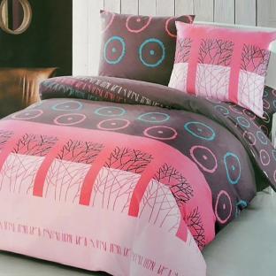 Комплект постельного белья из сатина Signs Pink