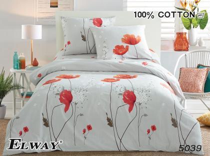 Комплект постельного белья из сатина Poppy Flower