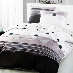 Комплект постельного белья евро Elway 5040 Abstraction