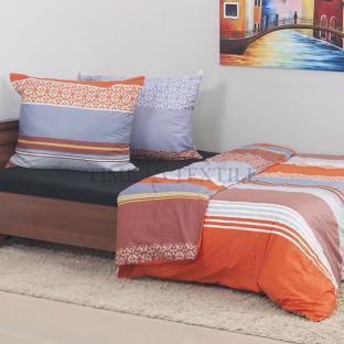 Комплект постельного белья из сатина Orange Fresh