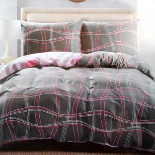 Комплект постельного белья из сатина Red Wine