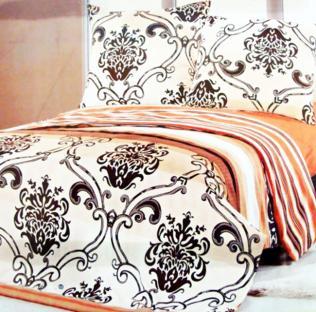 Комплект постельного белья из сатина Monogram