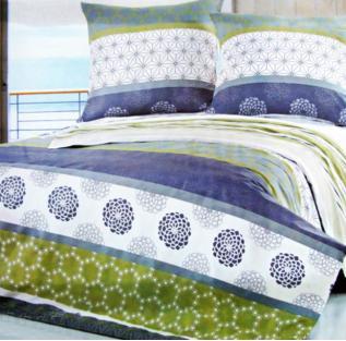 Комплект постельного белья полуторный Elway 852 Asters