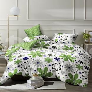 Комплект постельного белья из бязи Soft Textile Home Лето евро