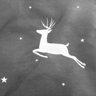 Комплект постельного белья из бязи Soft Textile Home Милые олени евро