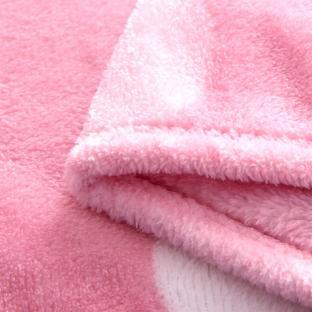 Плед-покрывало из микрофибры велсофт TAG Happy Day 160х220 см
