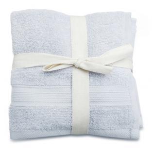 Набор махровых полотенец Серый 30x30 см 5 шт