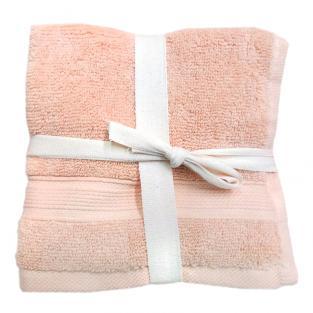 Набор махровых полотенец Беж 30x30 см 5 шт