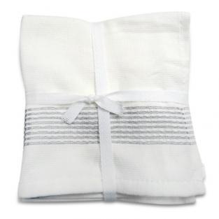 Набор махровых полотенец Полоса 30x30 см 6 шт