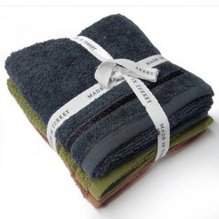 Набор махровых полотенец Ассорти 30x50 см 3 шт