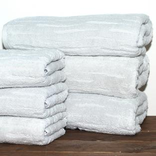 Полотенце махровое для рук Baumwolle Ash 40x70 см