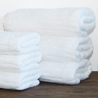 Полотенце махровое для рук Baumwolle White 40x70 см
