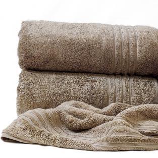 Полотенце махровое банное Calm Tones Beige 100x150 см
