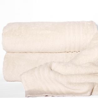 Полотенце махровое банное Calm Tones Milk 100x150 см