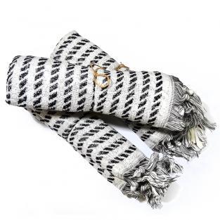 Набор махровых полотенец для лица Зебра 50x90 см 2 шт