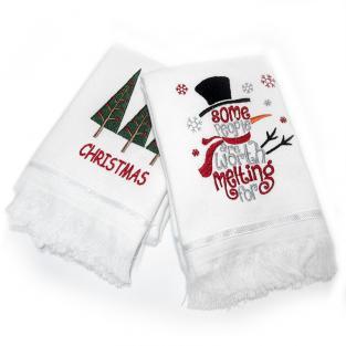 Набор новогодних полотенец Christmas 50x70 см 2 шт