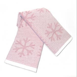 Набор новогодних полотенец Снежинки 50x70 см 2 шт