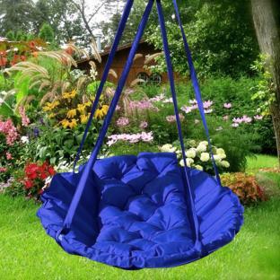 Подвесное кресло-гамак Time Textile Electric Blue O96 см